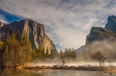 Yosemite Valley - First Snow