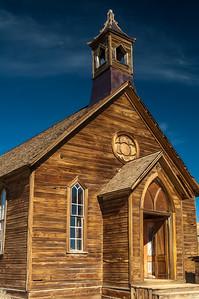 Chapel in Bodie, CA