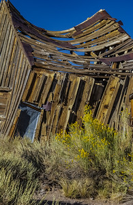 Someone's Home, Once - Ghost Mining Town - Bodie, CA