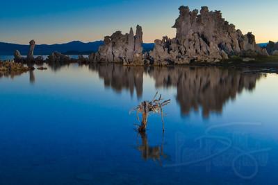 Tufas at dawn. Mono Lake, CA
