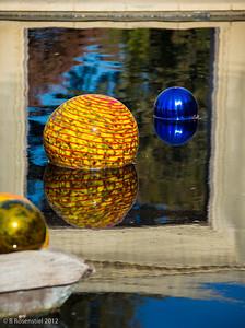 Carnival Boat, Chihuly Exhibit, Dallas Arboretum, TX, 2012