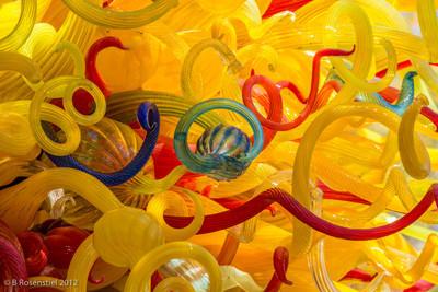 Sun Chihuly Exhibit, Dallas Arboretum, TX, 2012