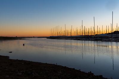 Sunrise, Scott's Landing Marina, Grapevine, TX, 2013