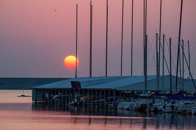 Grapevine Marina Sunrise, TX, June, 2012