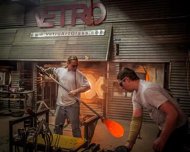Vetro Art Glass, Historic Grapevine, TX, 2011