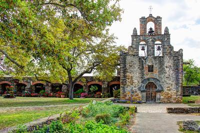 Mission Espada, San Antonio, TX, 2013