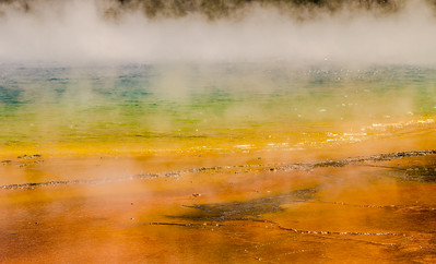 Colors of the Grand Prismatic Spring - Yellowstone NP