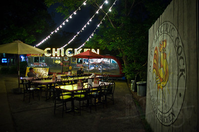 Night eats on South Congress St. Austin, TX