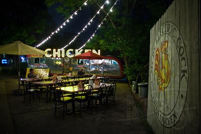 Night eats on South Congress St. Austin, TX