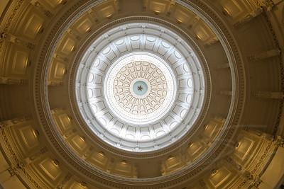 Texas State Capitol Rotunda. Austin.