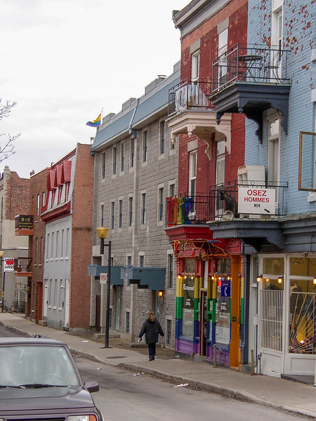 Rue Ste-Catherine, Montréal.
