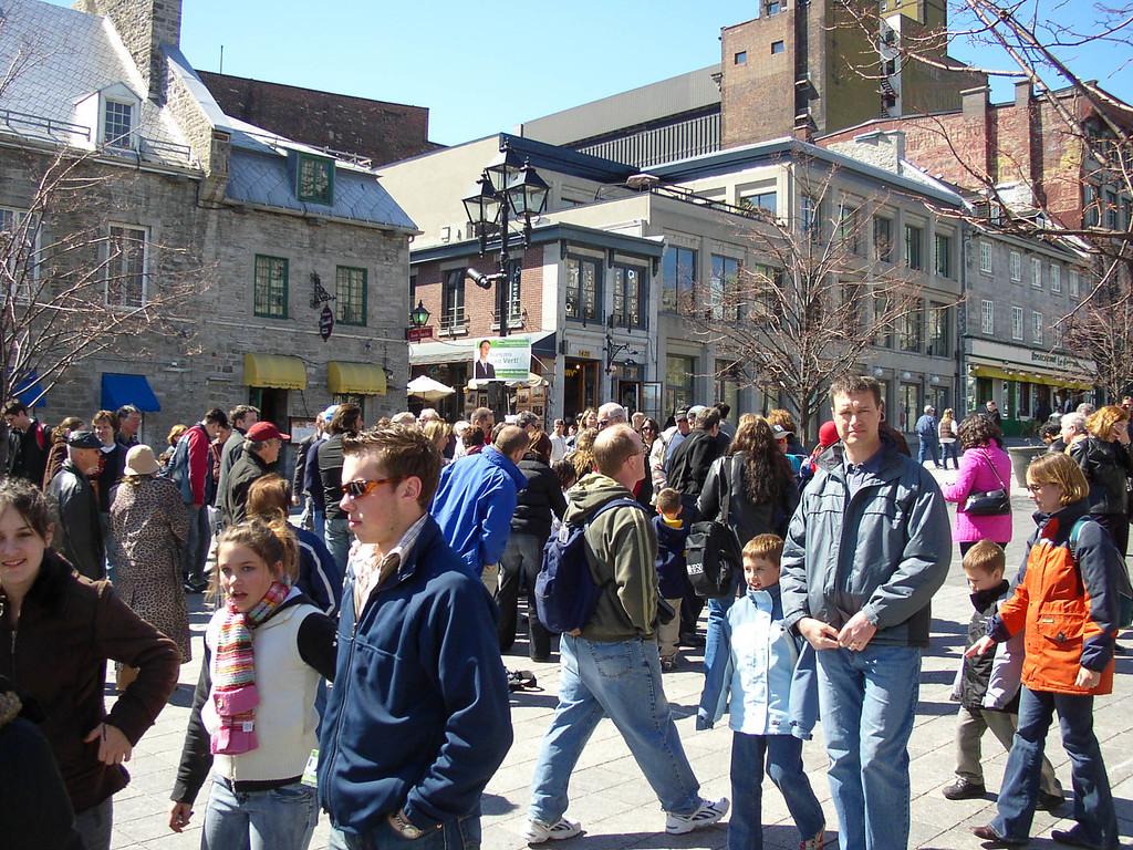 Place Jacques Cartier in Vieux Montréal.