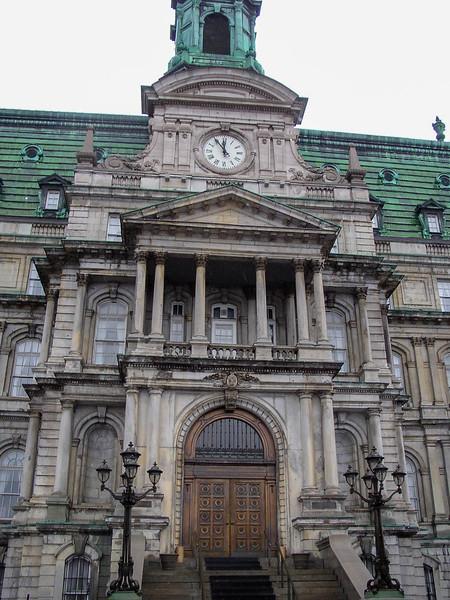 Hôtel de Ville de Montréal.