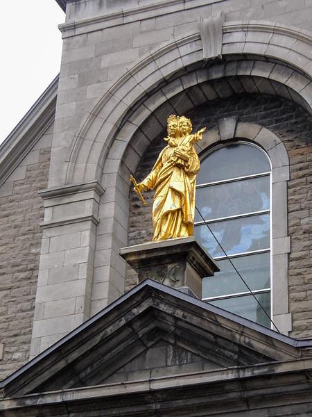 Notre-Dame-de-Bonsecours Chapel.