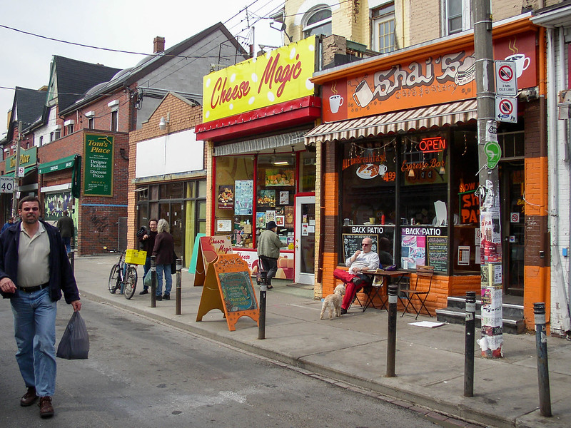 Kensington Market area.