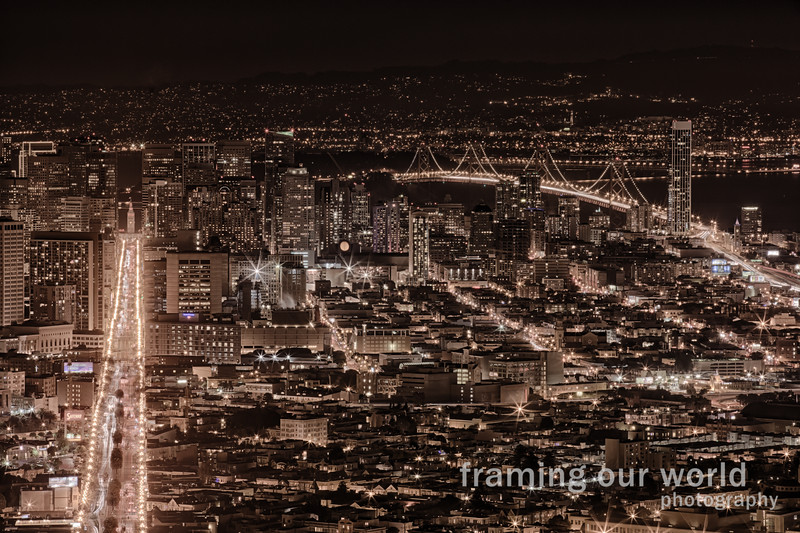 San Francisco by Night (HDR)