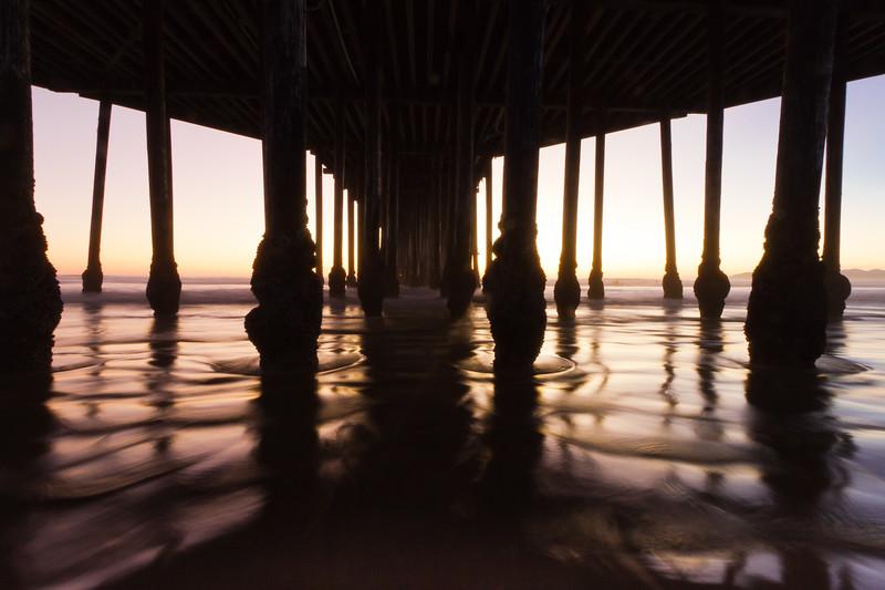 Under the Pismo Pier