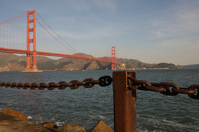 The Golden Gate Bridge from Sea Level