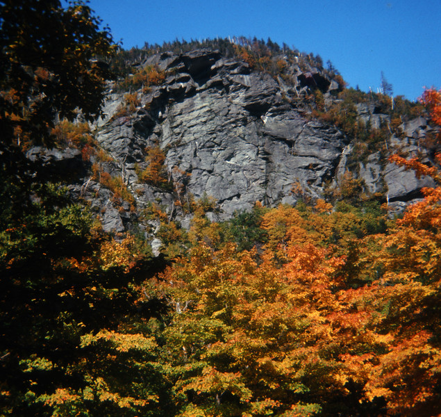 Smuggler's Notch in Fall