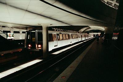 Arriving Metro