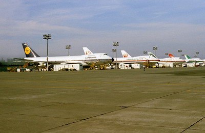 747s awaiting delivery