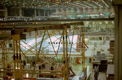 Boeing's Everitt, Washington 747 Assembly Plant