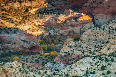 Sunrise Enters Grand Staircase Canyons