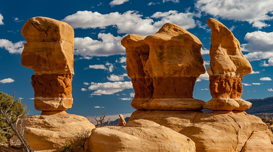 Hoodoos in the Devil's Garden