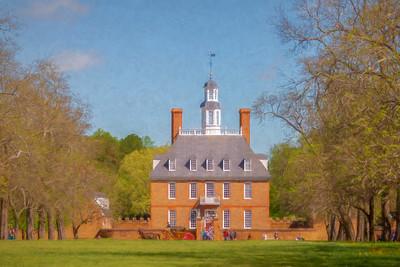 Colonial Williamsburg, VA, 2019