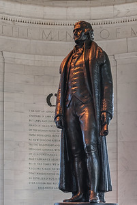 Mr. Jefferson in his Rotunda