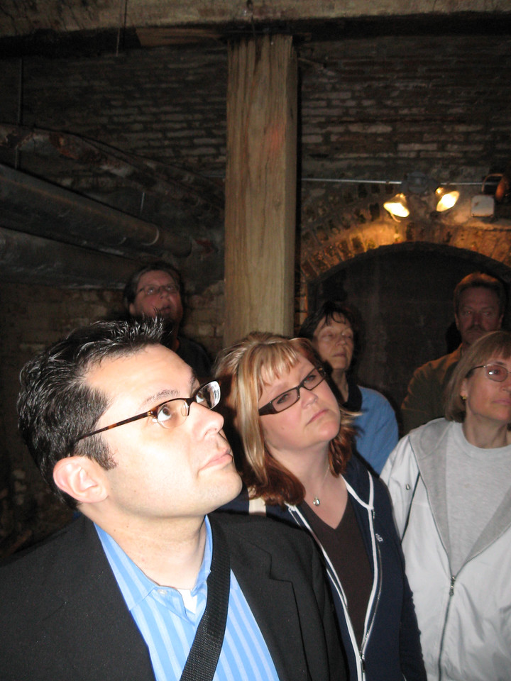 Brian on the Seattle Underground tour