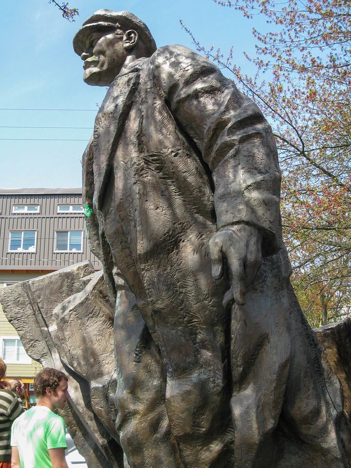 Lenin statue in Freemont