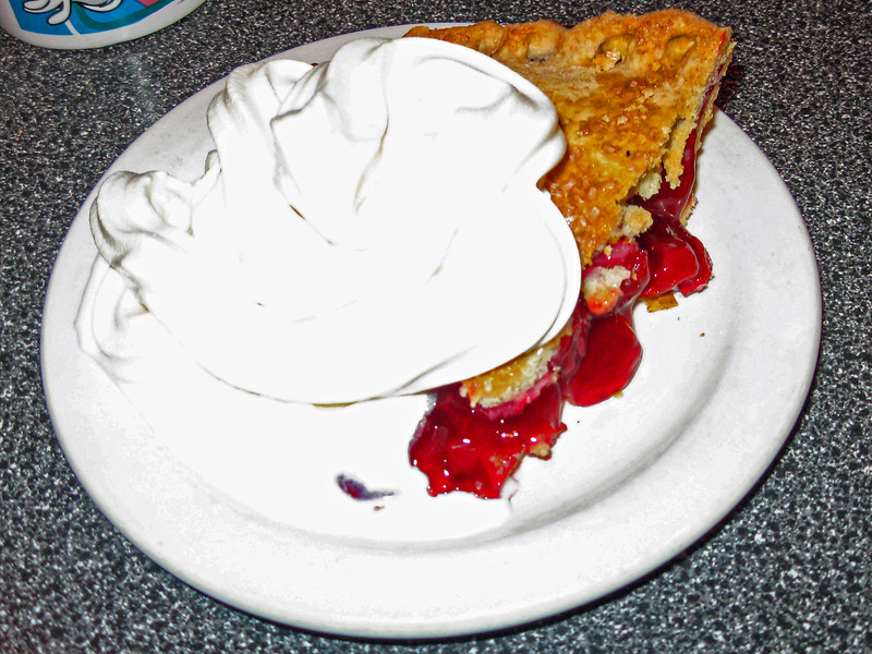 Twin Peaks Cherry Pie at Twede's Cafe