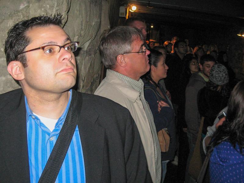 Brian on the Underground Tower