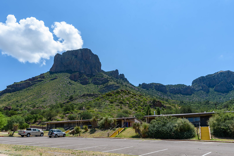 Chisos Basin Lodge & Casa Grande Peak