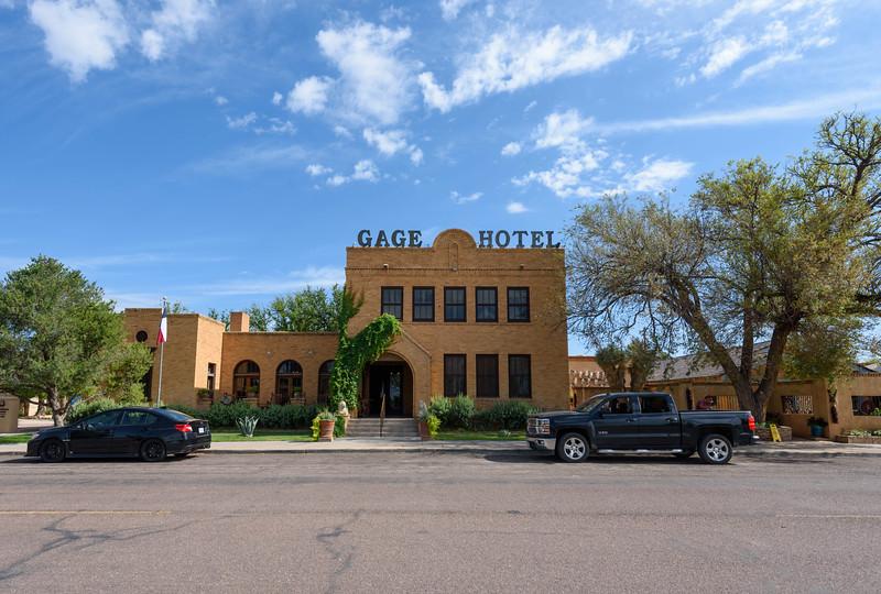 Gage Hotel, Marathon