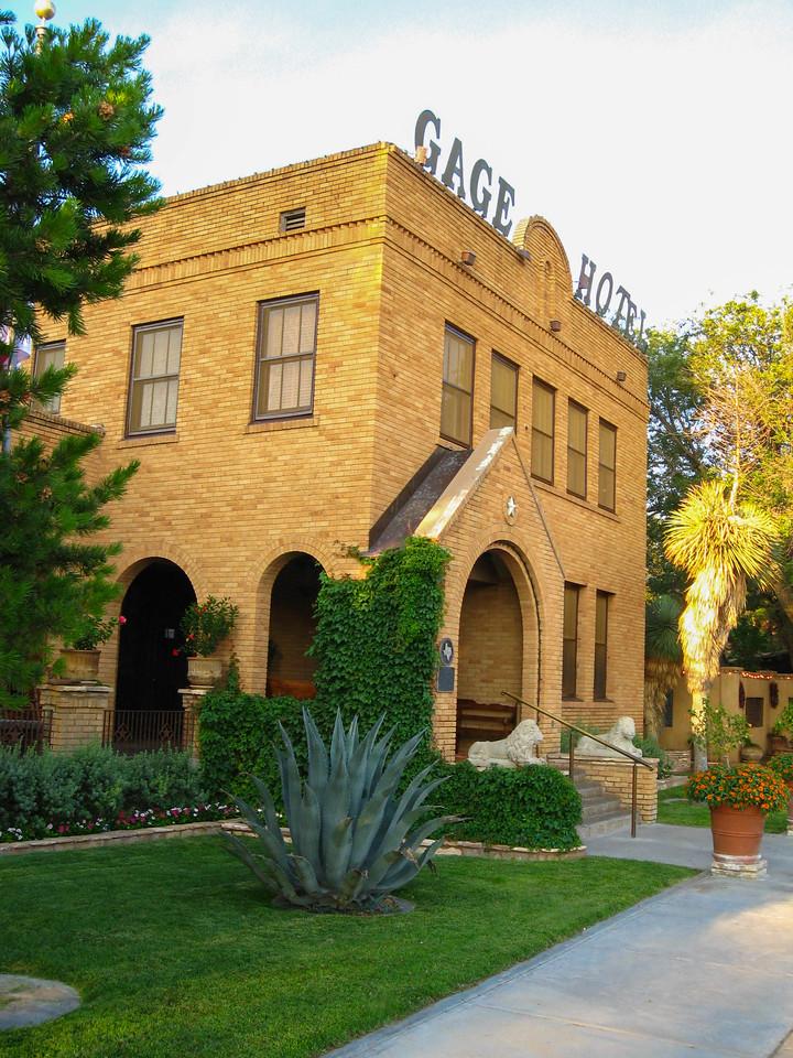 Gage Hotel in Marathon, TX.