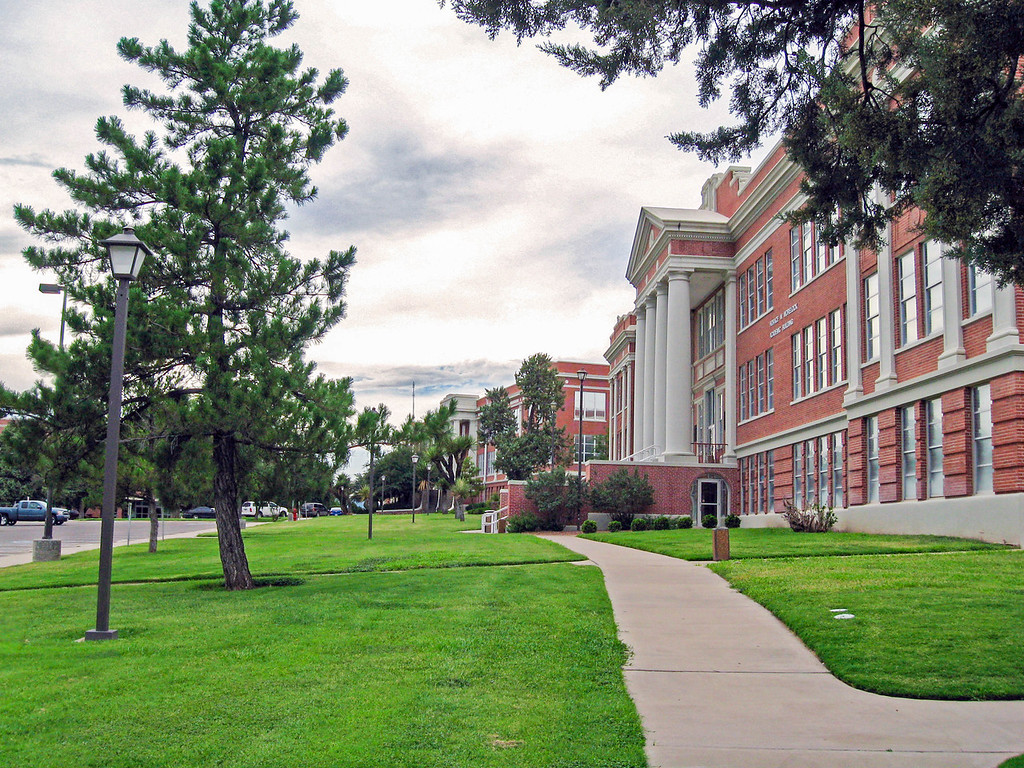 Campus of Sul Ross State University