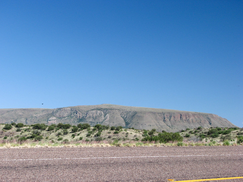 Elephant Mountain, south of Alpine.