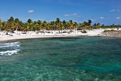 Costa Maya, Mexico The crystal clear coral laden waters of Costa Maya.