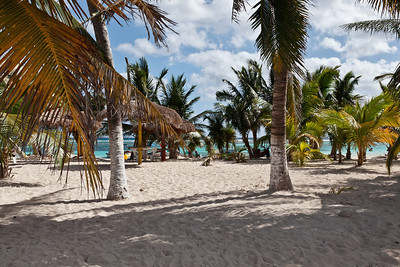 Mahahual, Mexico The sandy beaches of Mahahual are walking distance from Costa Maya.
