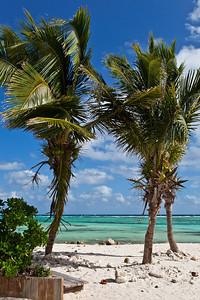 Mahahual, Mexico Mahahual has beautiful white sand beaches and clear green water.