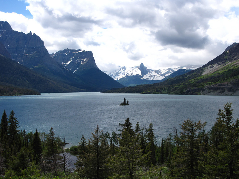 St. Mary Lake, Glacier National Park.