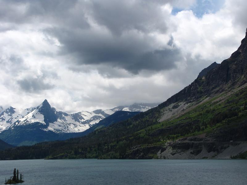 St. Mary Lake, Glacier National Park.