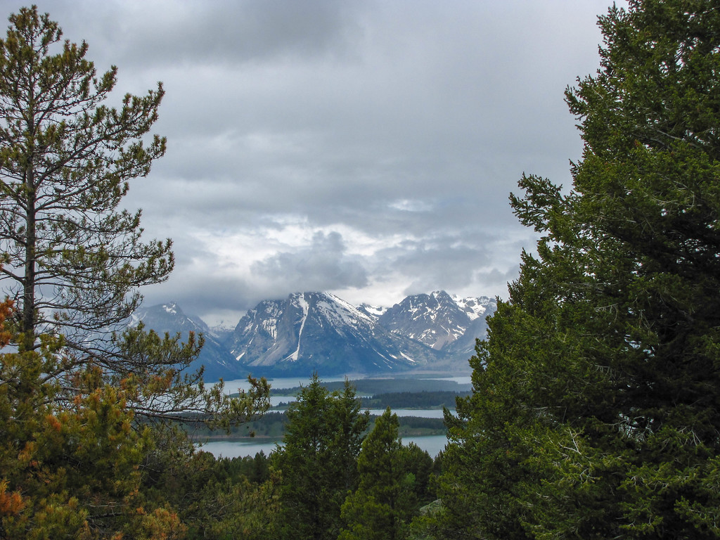 Views from Signal Mountain, Grand Teton National Park.