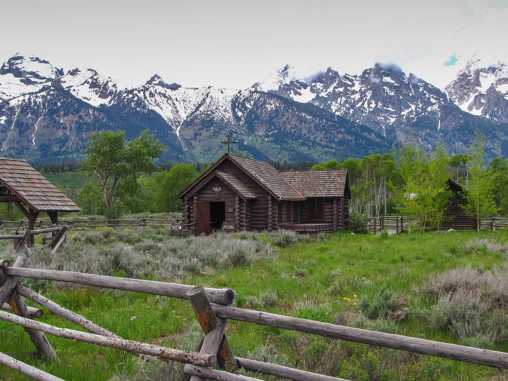 Menors Ferry Historic District, Grand Teton National Park.