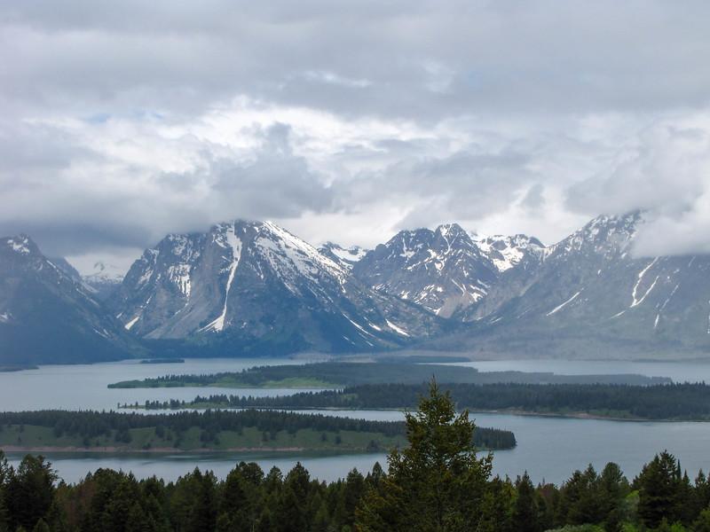 Views from Signal Mountain, Grand Teton National Park.