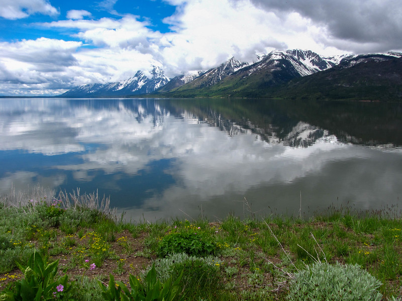 Jackson Lake, Grand Teton National Park.