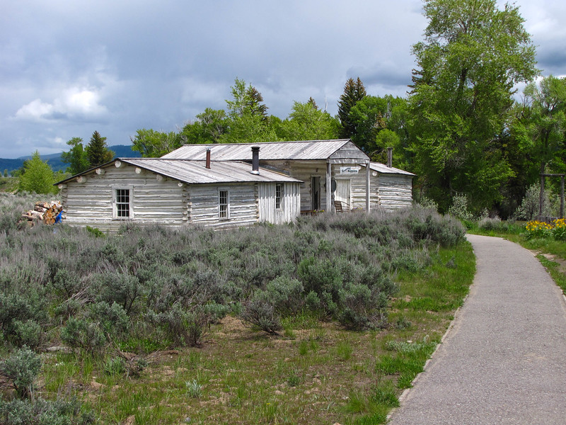 Menors Ferry Historic District, Grand Teton National Park.