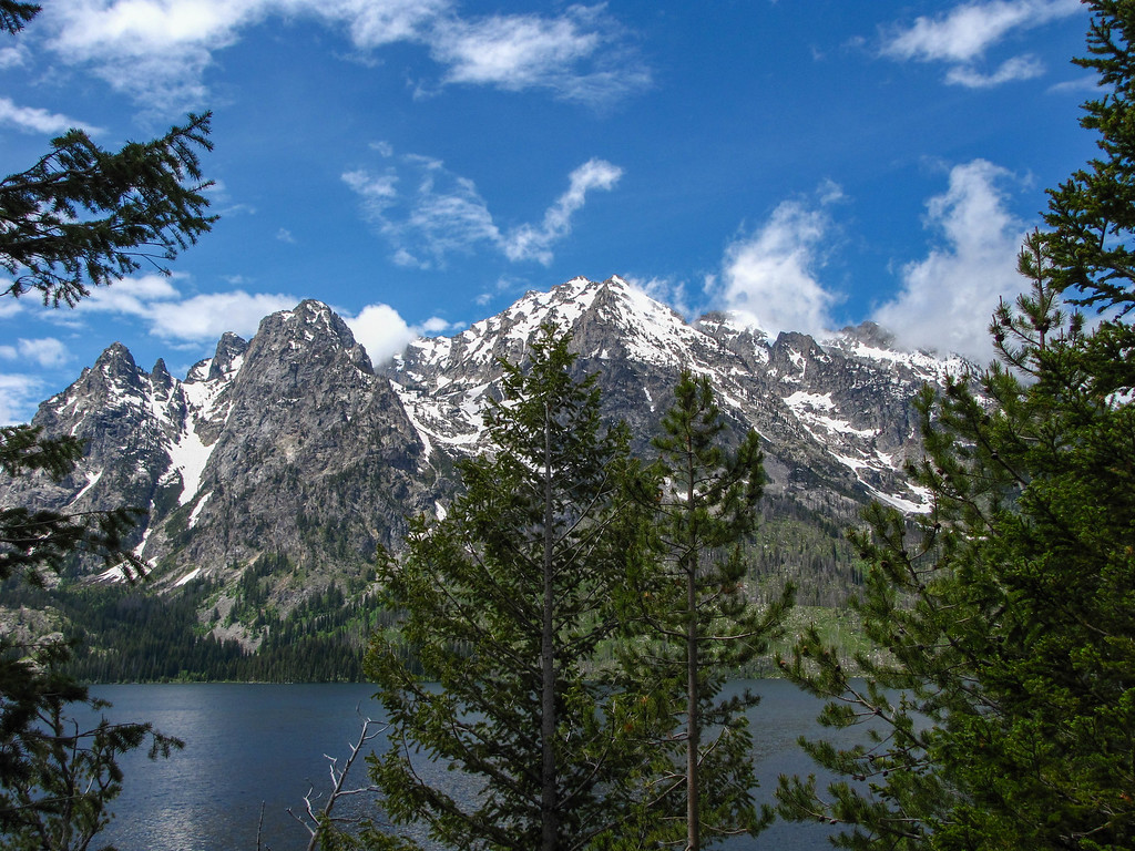 Jenny Lake, Grand Teton National Park.